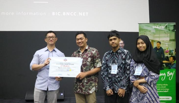 Mahasiswa UGM Juara Kompetisi Hackathon BNCC 2.0 with Tiket.com 2019