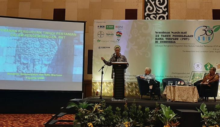 Departemen HPT UGM Gelar Seminar Nasional 30 Tahun Pengelolaan Hama Terpadu di Indonesia