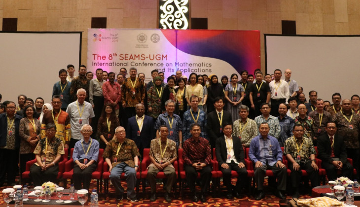 Departemen Matematika UGM Tuan Rumah The 8th SEAMS-UGM International Conference on Mathematics