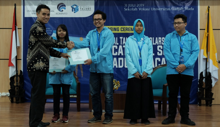Sekolah Vokasi UGM Latih 400 Talenta Digital Lulusan SMK