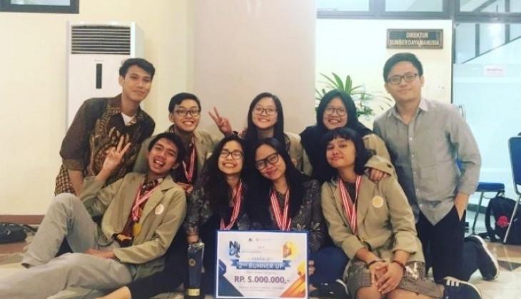 Tim Mahasiswa UGM Raih 6 Penghargaan Lomba Debat Nasional