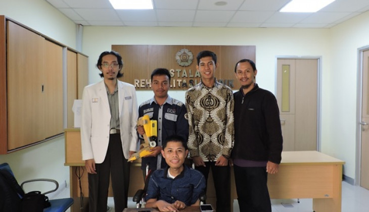 UGM Students Innovate Shoes to Prevent Ankle Contracture