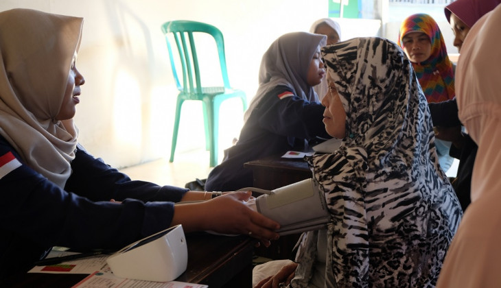 UGM Students Encourage Family Empowerment for Cardiovascular Disease Campaign