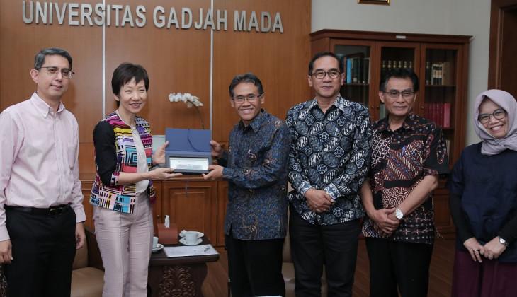 Menteri Budaya, Komunitas, dan Pemuda Singapura Kunjungi UGM