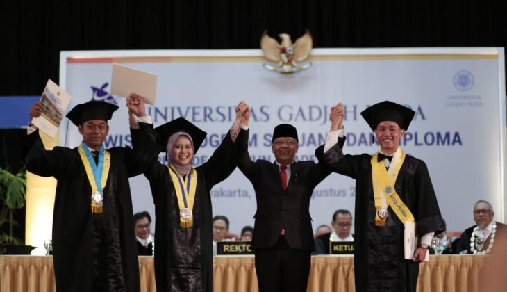 UGM Mewisuda 1.867 Lulusan Sarjana dan Diploma