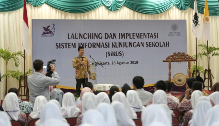 UGM Rilis Sistem Informasi Kunjungan Sekolah