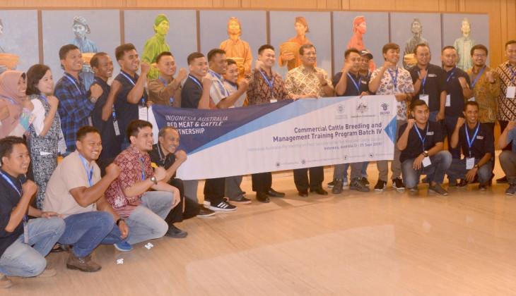 UGM - Partnership Australia Kembali Adakan Pelatihan Pembiakan Sapi