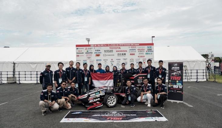 Mobil Listrik Arjuna UGM Peroleh Penghargaan Formula SAE 2019 di Jepang