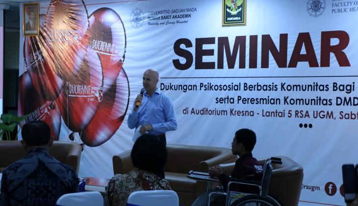 RSA Gelar Seminar Psiko Edukasi Penyakit DMD