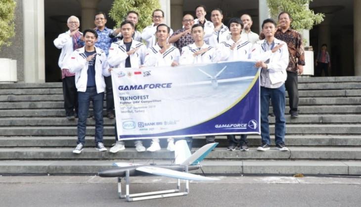 Gamaforce Siap Bertanding di Kompetisi UAV Turki