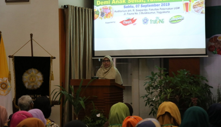 Fapet UGM Bersama IC3 dan BPOM Galakkan Perbaikan Gizi Menyongsong Indonesia Emas 2045