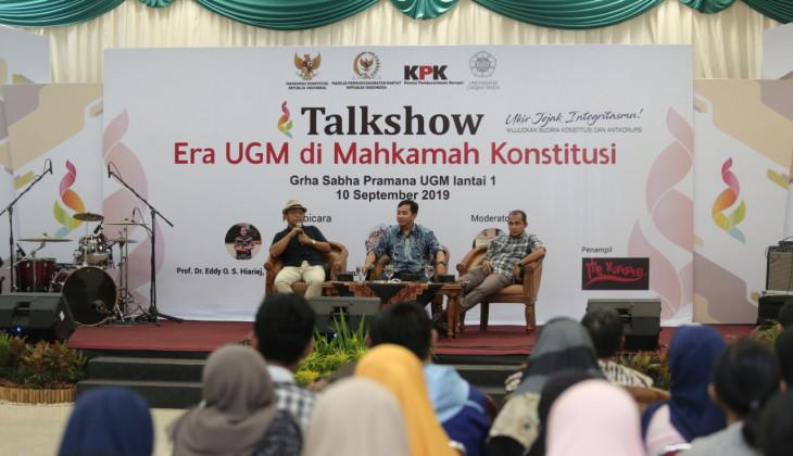 Rektor UGM: Kita Dukung Usaha Penguatan KPK