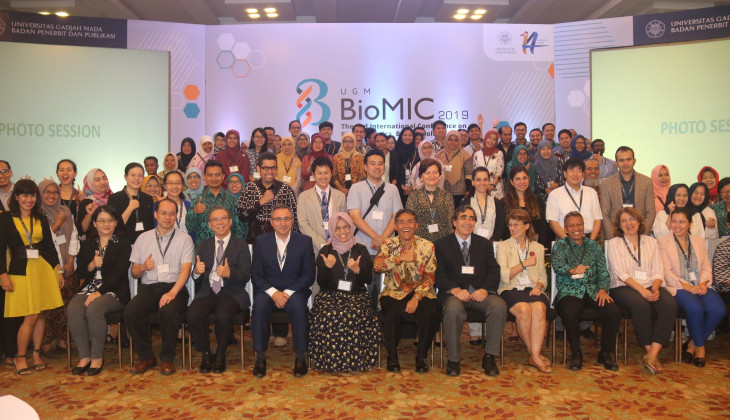 Rektor UGM Buka Konferensi Internasional BioMIC