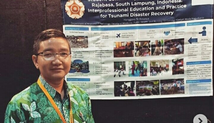 Student Community Service Leads UGM Lecturer to International Awards