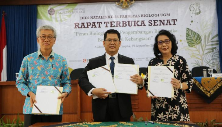 Fakultas Biologi UGM Jalin Kerja Sama PT. Sinde Budi Sentosa dan Instiper
