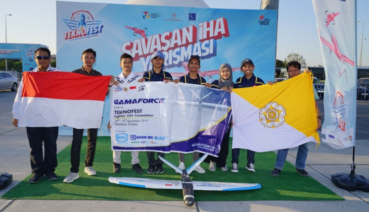 UGM Flying Robot Wins UAV Competition in Turkey