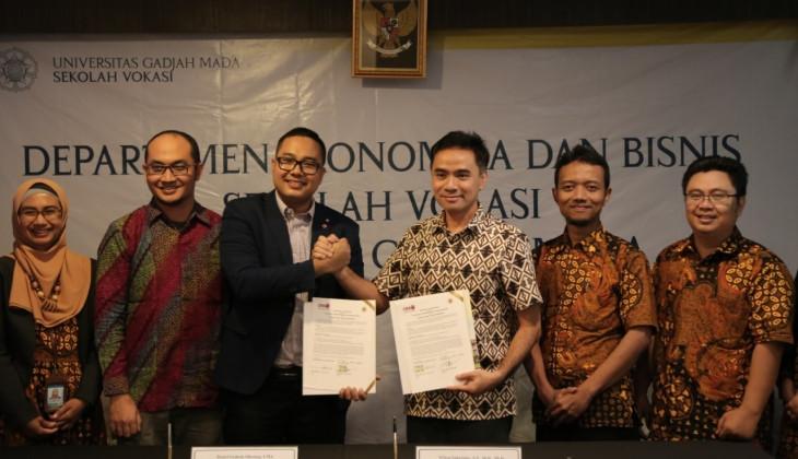 Sekolah Vokasi UGM dan ICMA Indonesia Jalin Kerja Sama