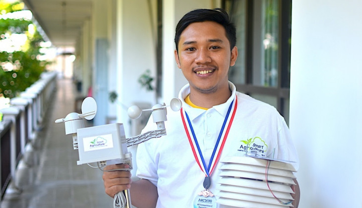 Land Monitoring System Leads UGM Students to Awards in Malaysia