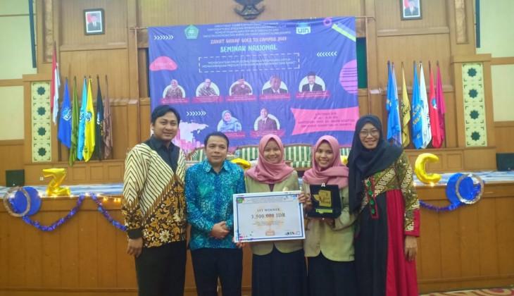 Mahasiswa UGM  Juara Lomba Karya Tulis Nasional Zakat dan Wakaf