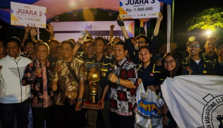 UGM Grand Champion of Indonesian Flying Robot Contest
