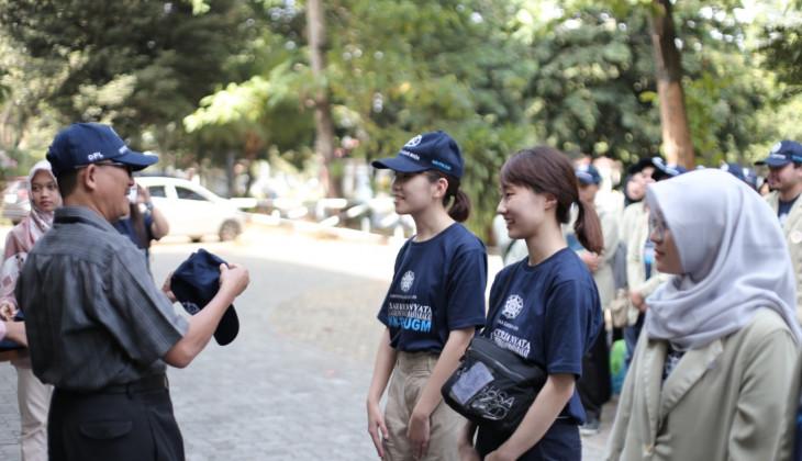 Belasan Mahasiswa Asing Mengikuti KKN di DIY dan Jawa Tengah