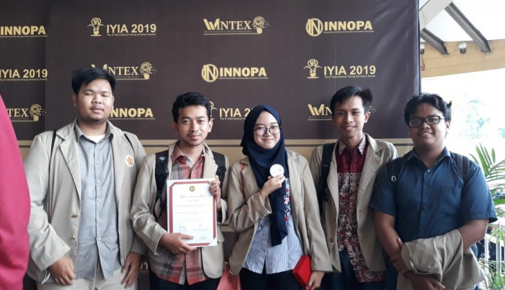 Tim Mahasiswa UGM Raih Medali dalam World Invention Technology Expo