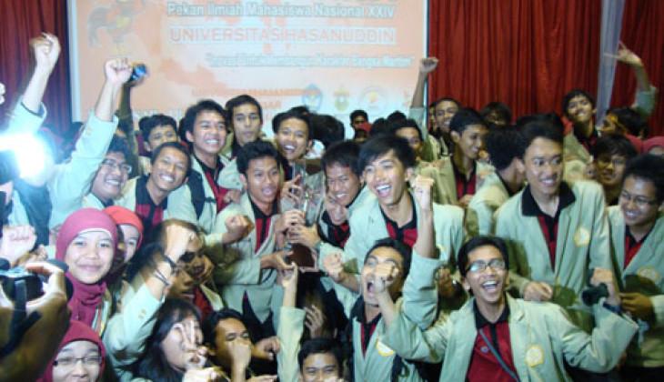 UGM Juara Umum Pimnas XXIV-Makassar