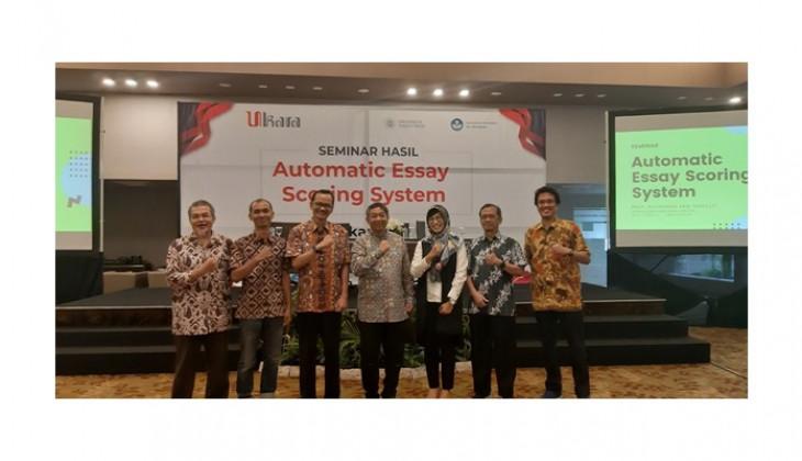 Tim Dosen UGM Kembangkan Sistem Otomatisasi Penskoran berbasis Artifical Intelligence, Ukara.ai