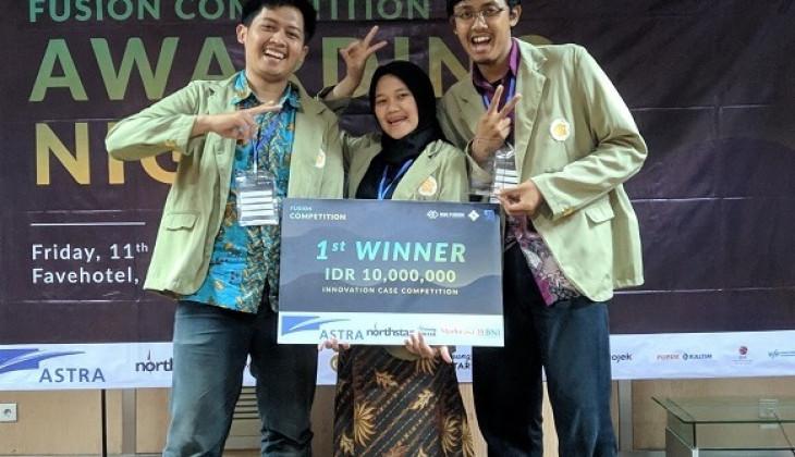 Tim UGM Juara Fusion Innovatice Contest 2019