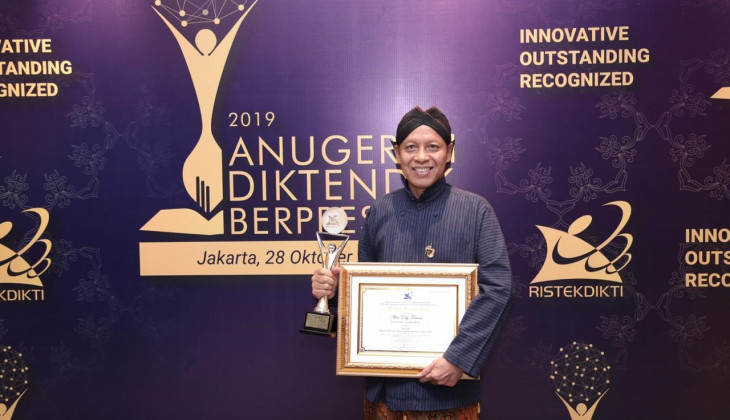 UGM Outstanding Lecturer Highlights Importance of Research Downstreaming