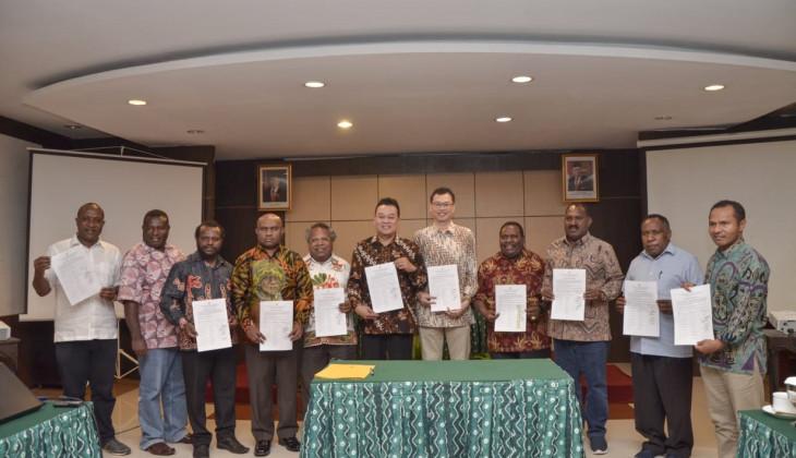 UGM Jalin Kerja Sama Pengembangan Provinsi Papua Tengah