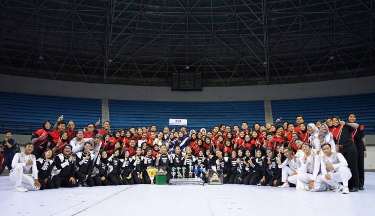 UGM Juara Umum Lomba Marching Band Piala Raja Hamengkubuwono