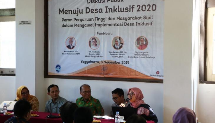 Pemerintah Dorong Pertumbuhan Desa Inklusif