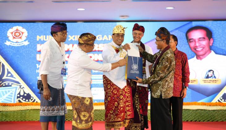 Jokowi Ingin Kagama Bersinergi dengan Organisasi Alumni Kampus Lain