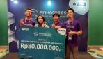 Tim NL Mawib UGM Juara Kompetisi Finhac 2019