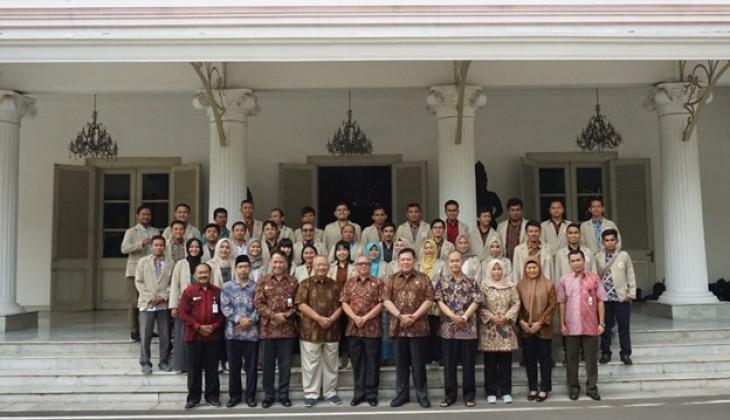 Mahasiswa UGM Pelajari Kondisi Ketahanan Nasional di Lemhanas