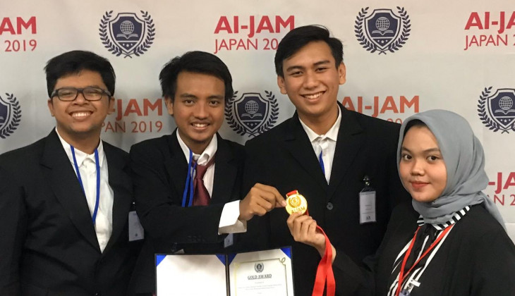 UGM Wins Advanced Innovation Jam in Japan