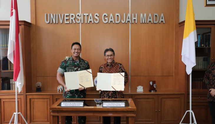 UGM dan TNI AD Kerja Sama Pendidikan Prajurit