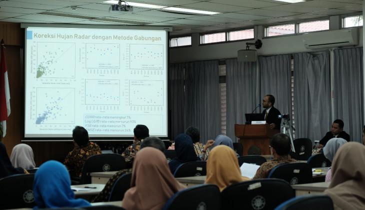 Mahasiswa Doktoral UGM Kembangkan Model Peramalan Hujan Jangka Pendek