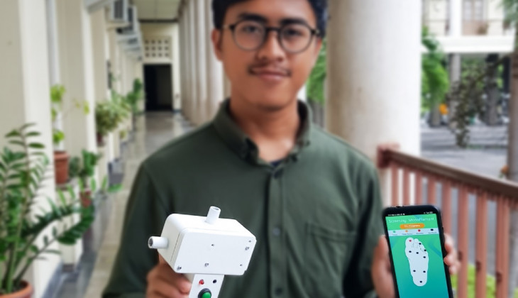 Developing Peripheral Neuropathy Detector for Diabetes Patients Successfully Delivers UGM Students to Win International Award