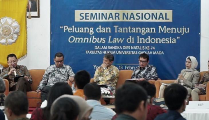 Omnibus Law, Terobosan Untuk Genjot Investasi di Tanah Air