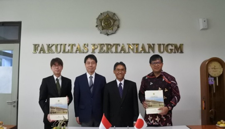 UGM dan Ibaraki University Tandatangani MoA Joint Office Collaboration