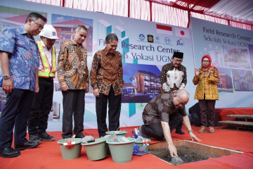 Vocational College of UGM Constructs Field Research Center Building in Kulon Progo