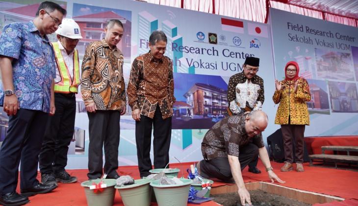 Sekolah Vokasi UGM Bangun Gedung Field Research Center di Kulon Progo