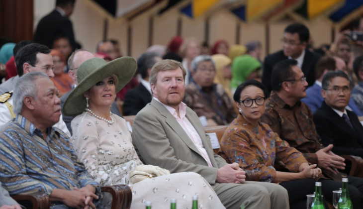 UGM Terima Kunjungan Raja dan Ratu Belanda