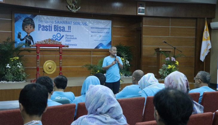 Faculty of Mathematics and Natural Sciences UGM Has Collaboration with BPS DIY to Succeed 2020 Population Census