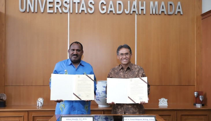 UGM is Working on Collaboration with Government of Puncak Papua Regency