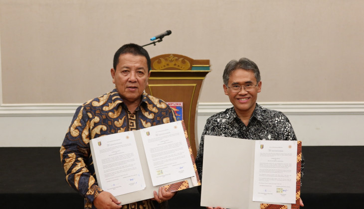 UGM Has Collaboration with Lampung Province