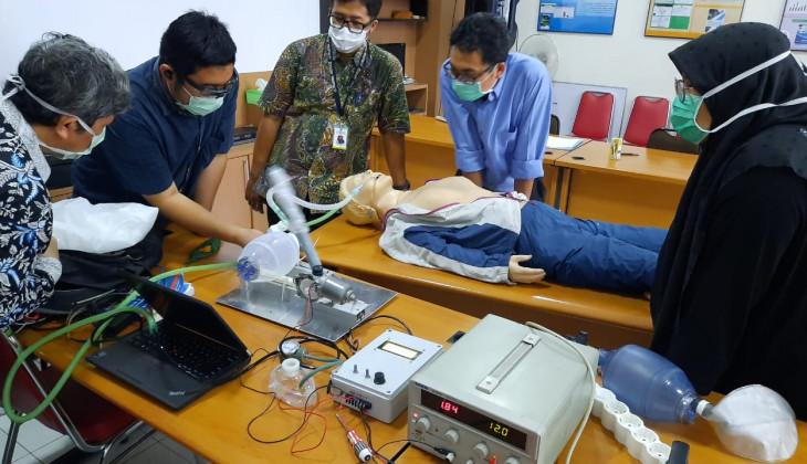 Dosen UGM Bikin Ventilator untuk Pasien Covid-19
