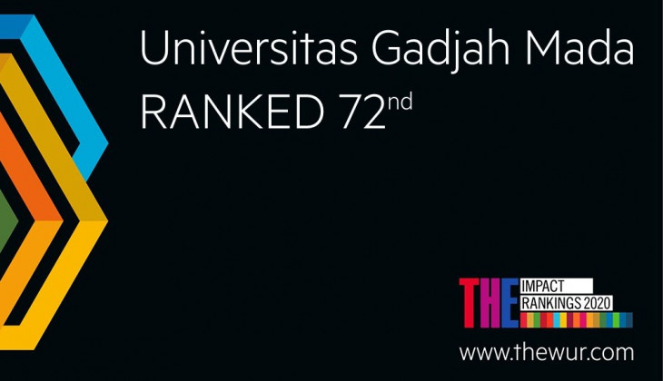 UGM Masuk 50 Universitas Terbaik Dunia